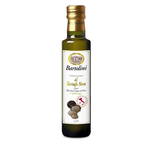 Bartolini Emilio Black Truffle Oil 8.4 FL OZ Glass