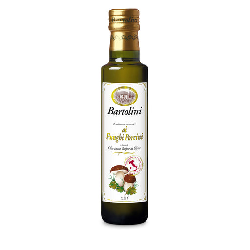 Bartolini Emilio Porcini Mushroom Extra Virgin Olive Oil, 8.4 oz | 250 ml