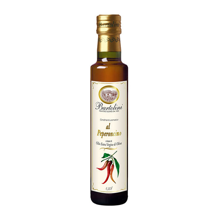 Bartolini Emilio Red Pepper Oil, 8.4 FL OZ Glass