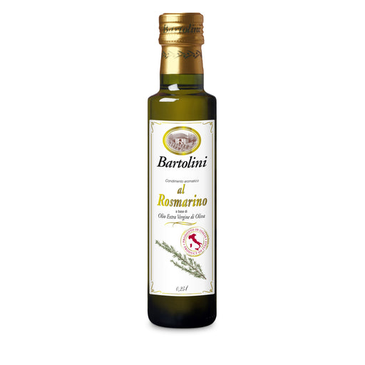 Bartolini Extra Virgin Olive Oil w/ Rosemary, 8.4 fl oz | 250 ml