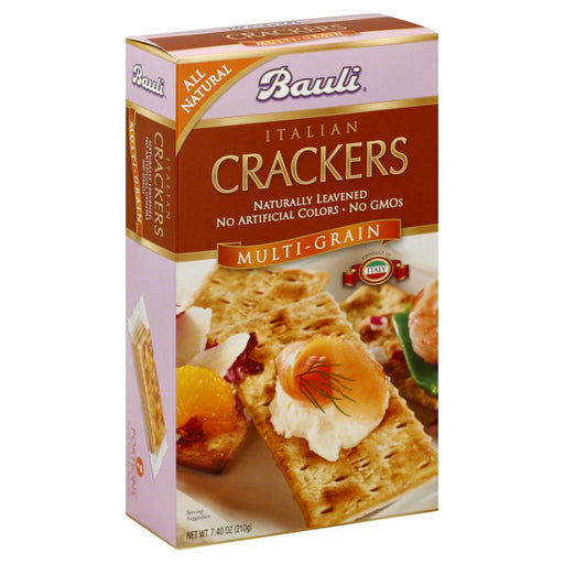 Bauli Italian Crackers Multi - Grain 210g