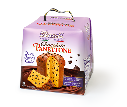 Bauli Chocolate Chip Panettone, 26.4 oz