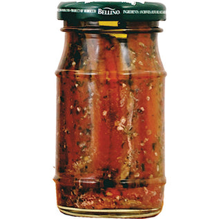 Bellino Anchovies in Olive Oil with Garlic and Parsley - 4.2 oz