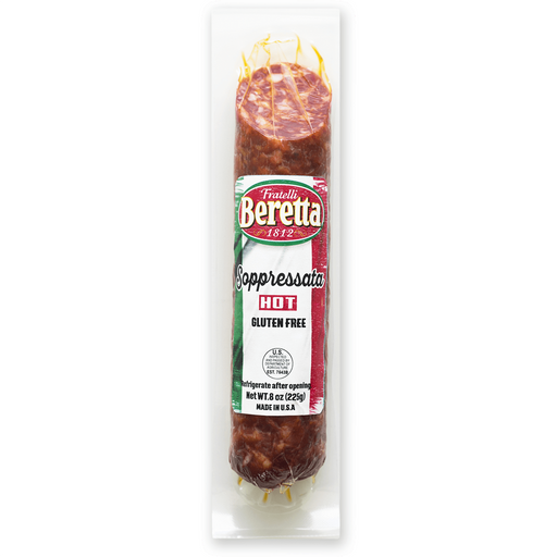 Beretta Sopressata Hot, 8 oz | 227g