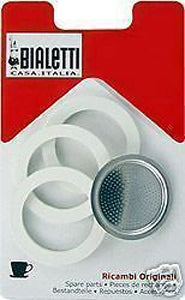 Bialetti Gasket and Filter Plate for 4 cups