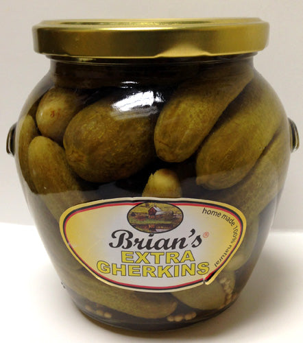 Brian's Extra Gherkins, 538g