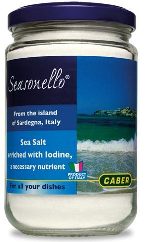 Caber Seasonello Sea Salt 10.58 oz Jar