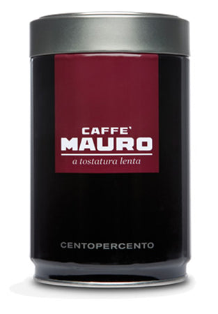 Caffe Mauro Centopercento Ground, 250g Can