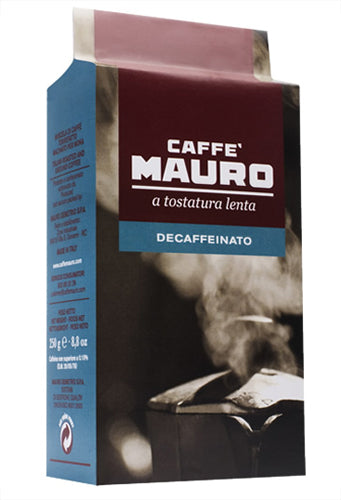 Caffe Mauro Ground Decaffeinated 250g