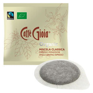Caffe Gioia 50 Organic Single Coffee Pods, 350g