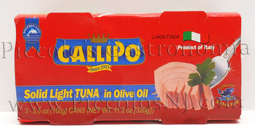 Callipo Solid White Tuna in Olive Oil Tin 320g