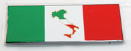 Italian Car Sticker with Italian State Logo