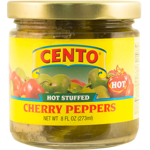 Cento Hot Stuff Peppers, 8 oz