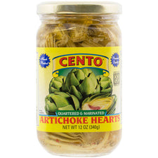 Cento Quartered & Marinated Artichoke Hearts, 12 oz