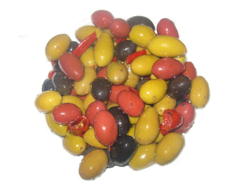 Cerignola Mix Olives  1 lb (Drained Weight)