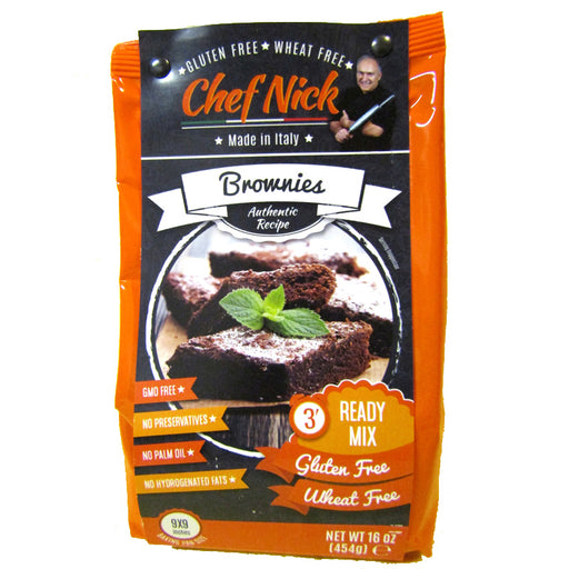 Chef Nick Gluten Free Brownies Ready Mix