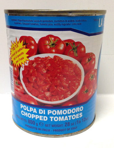 La Bella San Marzano Chopped Tomatoes, 28 oz