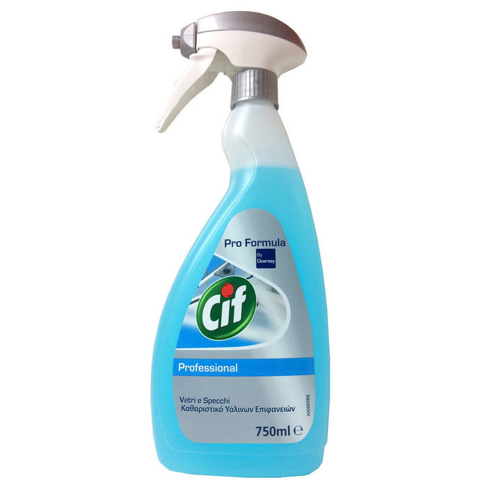 Cif Professional Vetri e Specchi, Window & Glass Cleaner, 750 ml