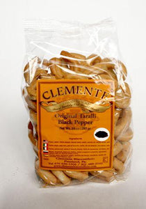 Clemente Biscottificio Original Black Pepper Taralli