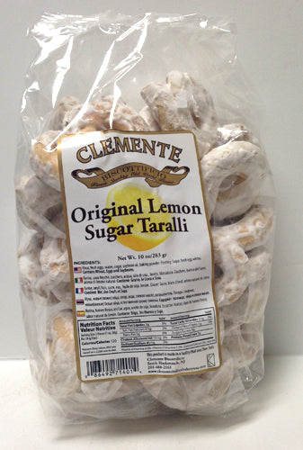 Clemente Original Lemon Sugar Taralli, 10 oz