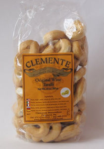 Clemente Original Wine Taralli, 10 oz