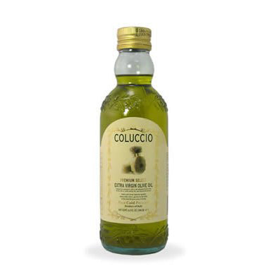 Coluccio First Cold Pressed Extra Virgin Olive Oil, 16.9 fl oz | 500 ml