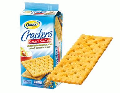 Colussi Crackers Salted, 250g