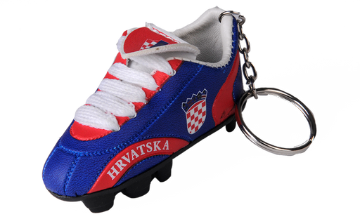 Croatia Blue Shoe keychain