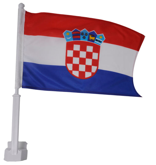 Croatia Car Window Flag