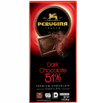 Perugina Dark Chocolate 51% Cacao, 3.5 oz