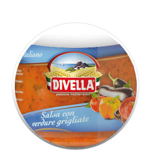 Divella Salsa with Mixed Grilled Vegetables 280g Jar