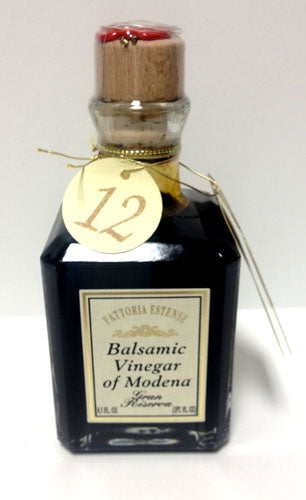 Fattoria Estense Balsamic Vinegar of Modena 12 Year 8.5 fl oz