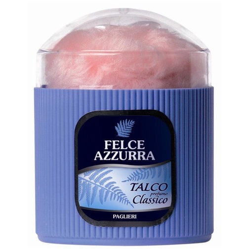 Felce Azzurra Body Powder with Puff Classico Talco 250g