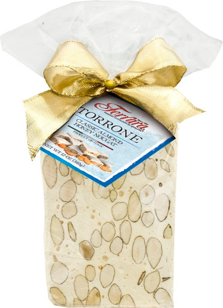 Ferrara Hard Torrone Gift Wrapped Block, 12oz