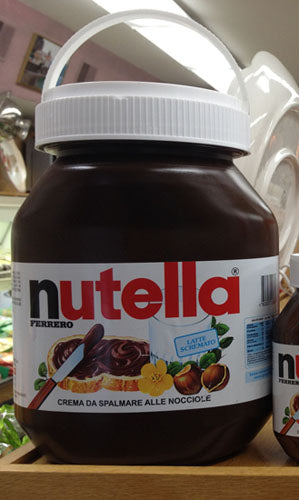 Ferrero Nutella Made in Italy, Giant Jar 5Kg - 11 lb