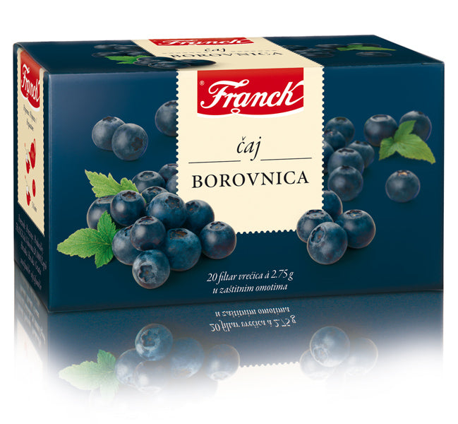 Franck Borovnica (Blueberry) Tea, 20 Bags, 55g