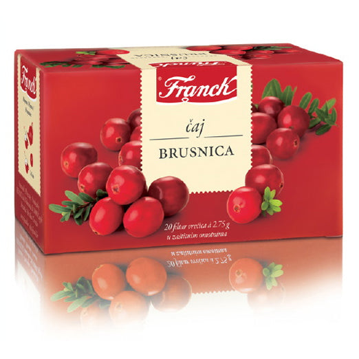 Franck Brusnica (Cranberry) Tea, 20 Bags, 55g
