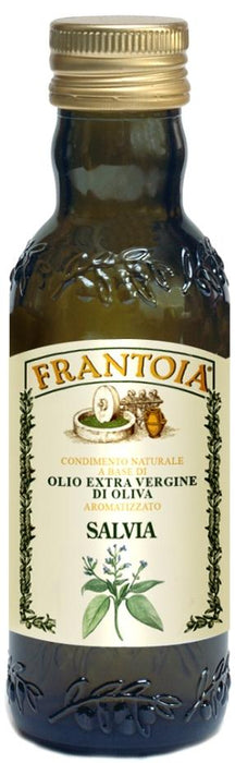 Frantoia Extra Virgin Olive Oil W/ Salvia 8.5 FL. OZ