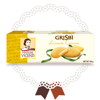 Grisbi Lemon and Ginseng cookies, 150g
