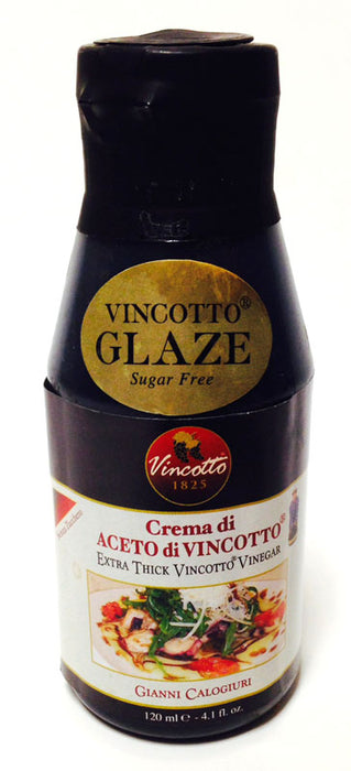 Gianni Calogiuri Extra Thick Vincotto Vinegar Glaze, 120ml