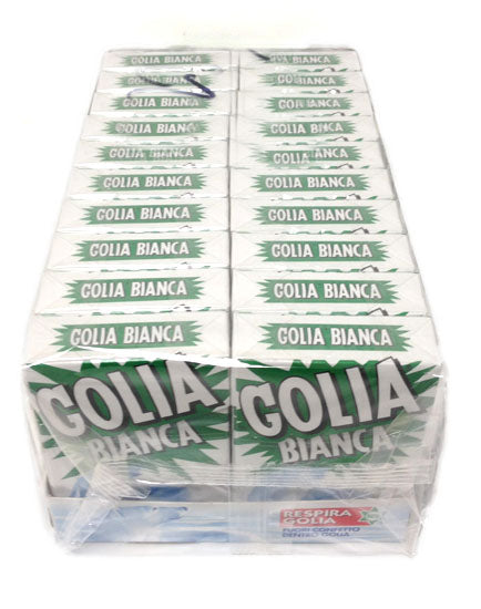 Golia Bianca Licorice Box  CASE 20 x 49g
