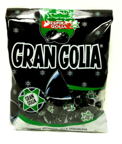 Perfetti Gran Golia Liquorice Gummy Candies 6.35 Oz Bag