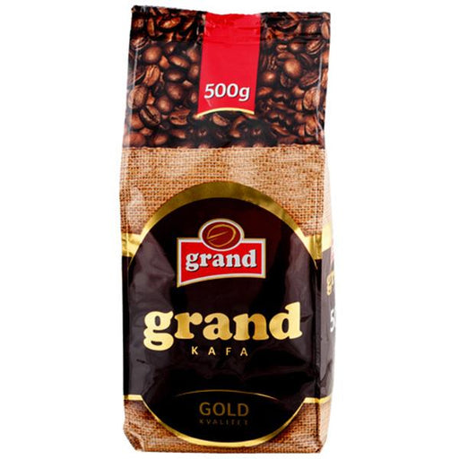 Grand Kafa Gold Kvalitet Coffee, 17.6 oz | 500g