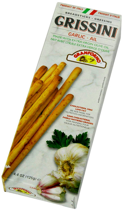Granforno Grissini Garlic Breadsticks 4.4oz (125g)