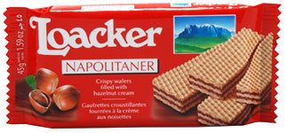 Loacker Hazelnut Wafer, 45g