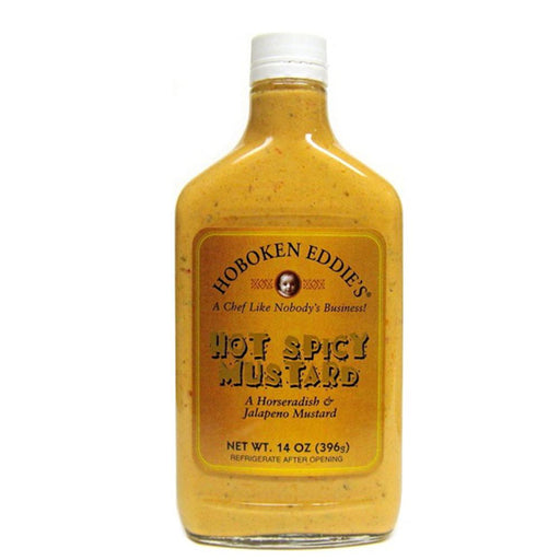 Hoboken Eddie's Hot Spicy Mustard, 14 oz