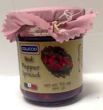 Coluccio Hot Pepper Spread 7.1 oz