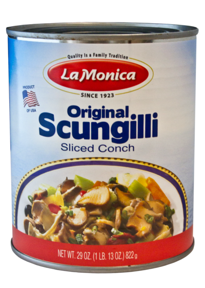 LaMonica Scungilli Sliced Conch, 29 OZ. Can