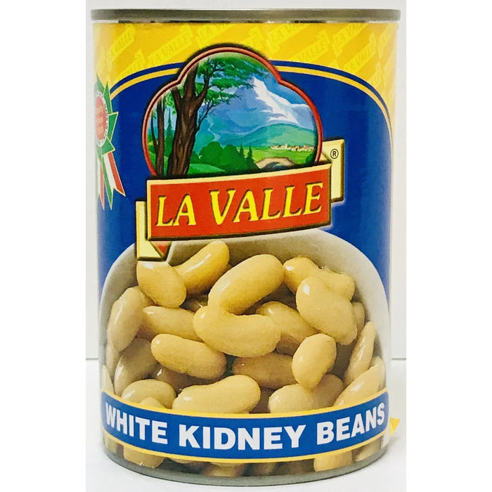La Valle Italian Cannellini, White Kidney Beans, 14 oz | 400g Can