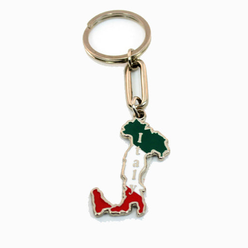 Italy Metal Boot Key chain, 2""